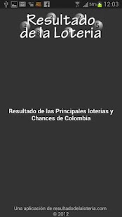 Resultado Loterias Colombia - screenshot thumbnail