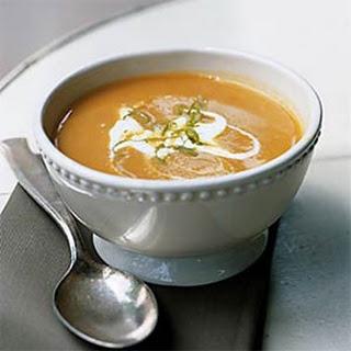 Pumpkin Coconut Soup.