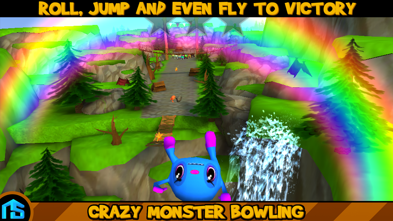Crazy Monster Bowling - screenshot