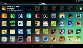 Screenshot of STheme Pro HD - Icon Pack