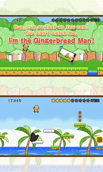 Gingerbread Dash! LITE apk screenshot