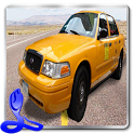 Car Driving Cab Parking 3D icon