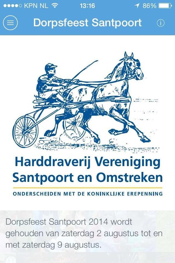 Dorpsfeest Santpoort - screenshot