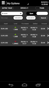 OptionRally Mobile Trader- screenshot thumbnail