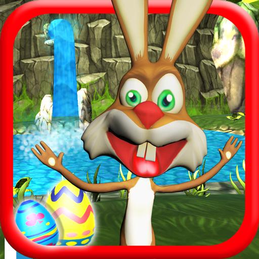 Talking Bunny - Easter Bunny Icon