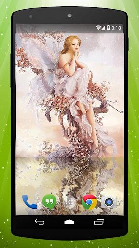 Vintage Fairy Live Wallpaper
