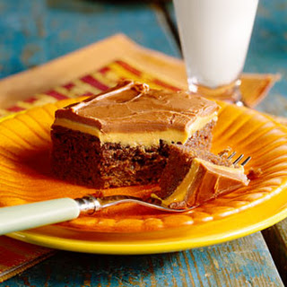 Peanut Butter-Fudge Cake