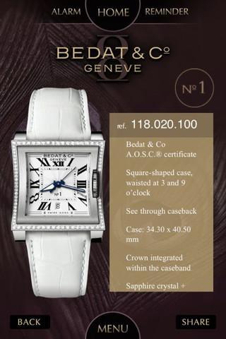 BEDAT & C° Watches - screenshot
