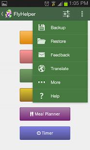 FlyHelper | Personal Organizer - screenshot thumbnail