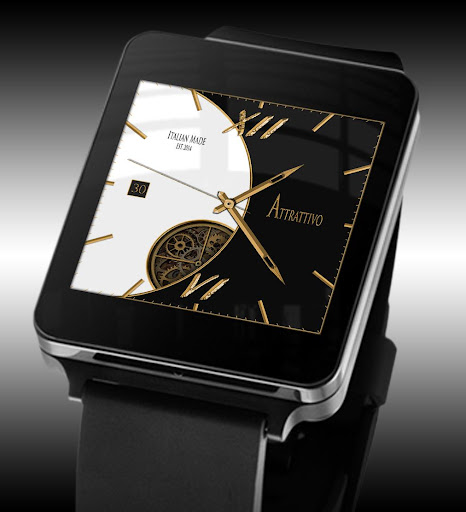 Attra- Android Wear Watch Face