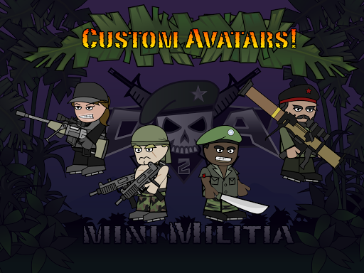 Doodle Army 2 : Mini Militia  gameplay | by HackJr.Pw 15