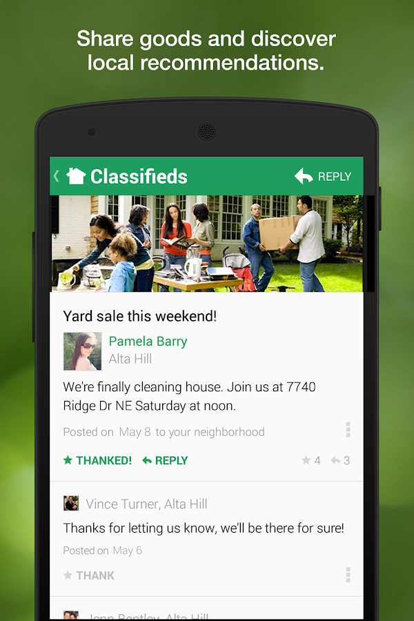 Nextdoor - screenshot