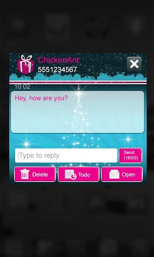 免費下載個人化APP|Sparkly Christmas Eve GO SMS app開箱文|APP開箱王
