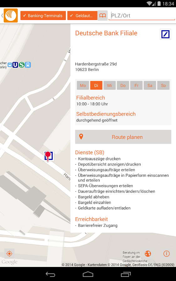 norisbank mobile – Screenshot