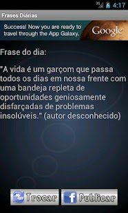 Frases diárias - screenshot thumbnail