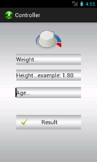 Weight Controller - screenshot