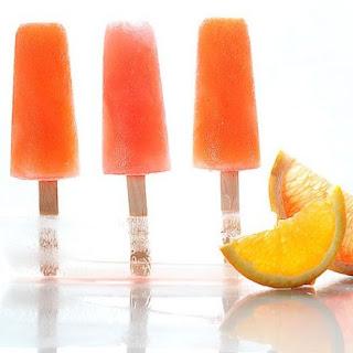 Campari Citrus Popsicles.