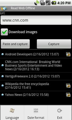 Read Web Offline Free  screenshots 4