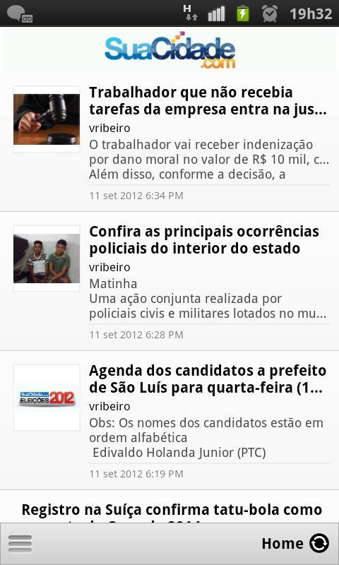 SuaCidade.com- screenshot