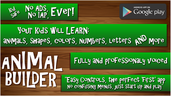 Kids Puzzle Animal Builder- screenshot thumbnail