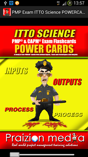 PMP ITTO Science POWERCARDS
