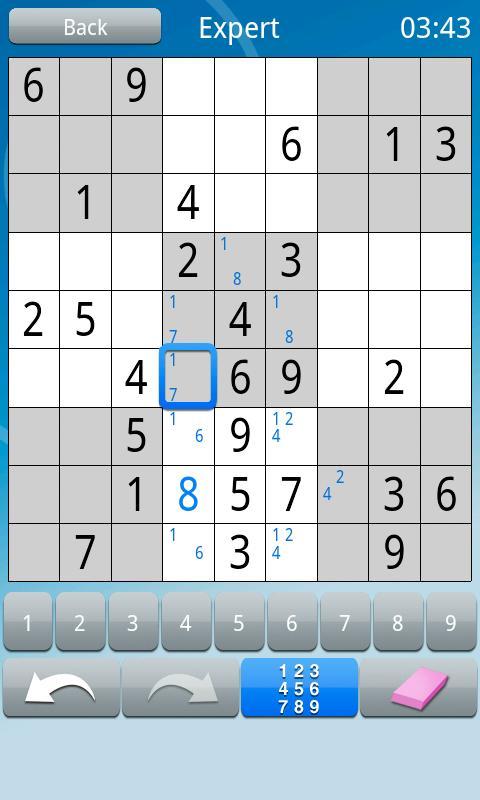 Sudoku :)- screenshot