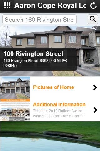 Aaron Cope Real Estate App