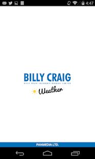 Billy Craig Weather screenshot
