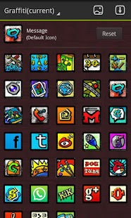 Graffiti GO LauncherEX Theme - screenshot thumbnail