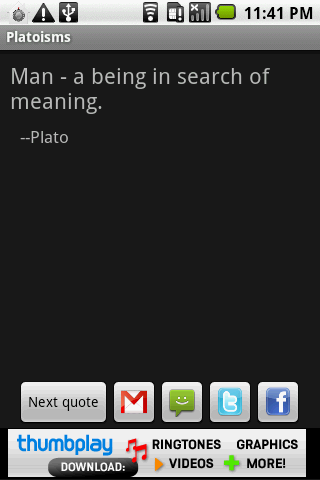 Platoisms - screenshot