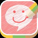 スタンプ&らくがきチャット Doodle Do icon