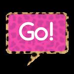 Go SMS Themes: Pink Cheetah