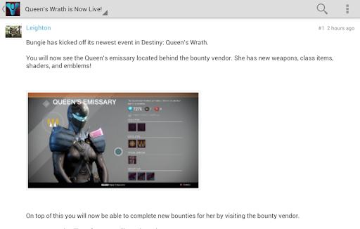 Destiny Forums