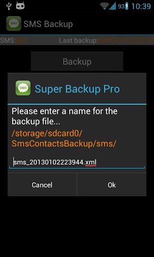 Super Backup Pro: SMS&Contacts|不限時間玩工具App-APP試玩
