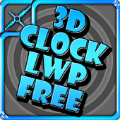 Clock 3D LWP Free