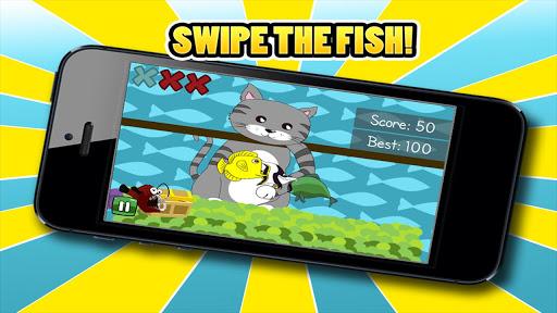 Fishy Kitty - Cat Swipe Ninja