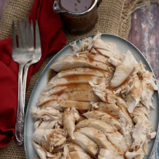 Slow-Cooker Cranberry Turkey Breast with Gravy.