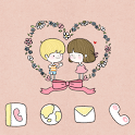 Clean Couple Girl Go theme icon