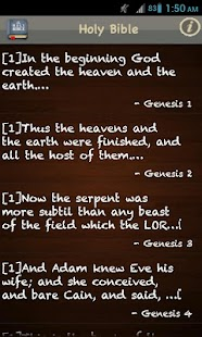 King James Bible (KJV) FREE! - screenshot thumbnail