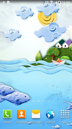 mod Paper World Live Wallpaper 1.0.7 screenshots 2