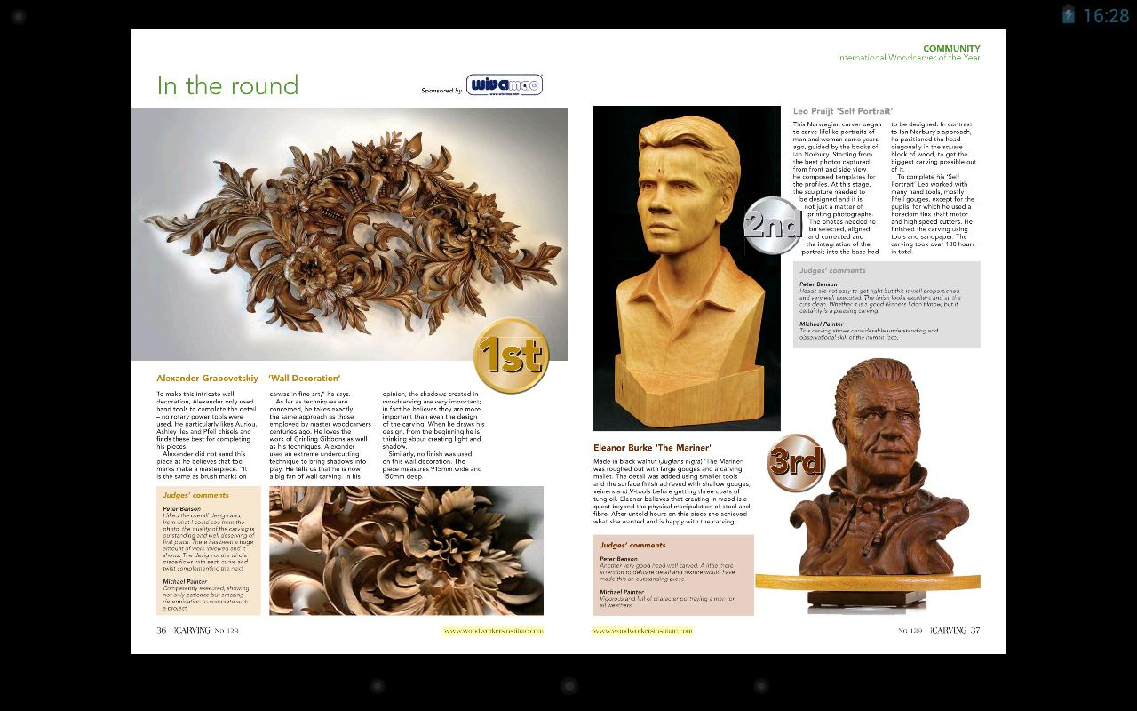 Wood carving magazine free plansdownload