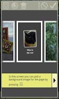 Screenshot of Scrap! Photo Book Maker Free