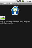 Screenshot of CID Forward