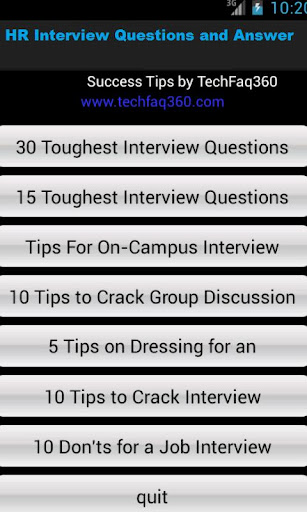 HR Interview Questions Ans