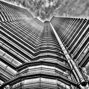 Petronas Twin Tower Malaysia by HP Tang - Buildings & Architecture Architectural Detail ( klcc, petronas, malaysia, twin tower )