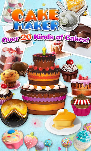 Cake Maker 2-Cooking game Android App Screenshot