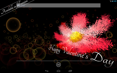 Valentine's Day Free LWP - screenshot thumbnail