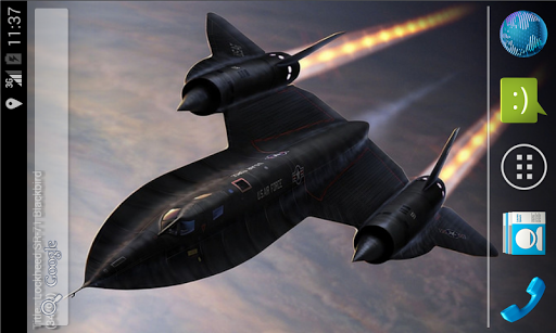 SR-71 Live Wallpaper Lite