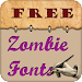 Zombie Free Fonts Icon