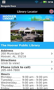 Hoover Public Library - screenshot thumbnail